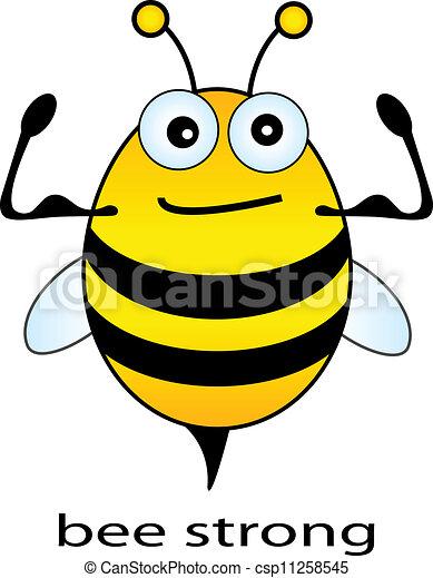 silny, pszczoła - csp11258545
