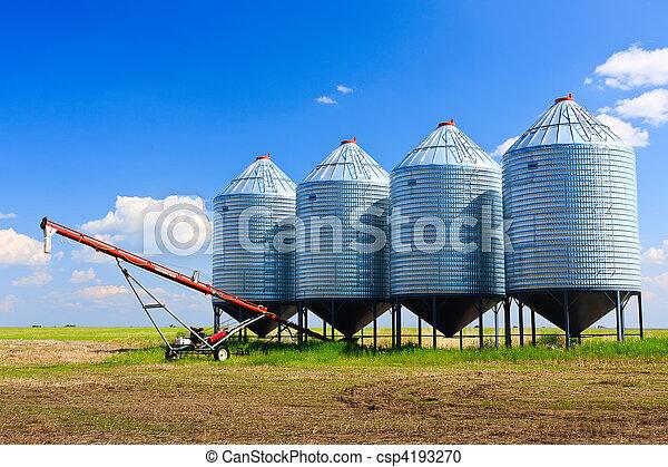 silos grão - csp4193270