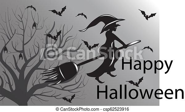 Vector de brujas de Halloween - csp62523916