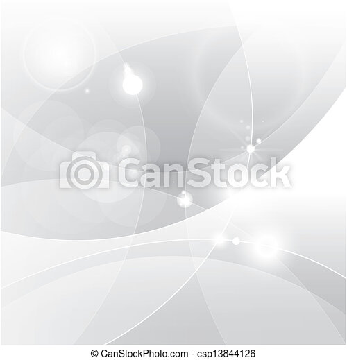 Silver abstract background - csp13844126