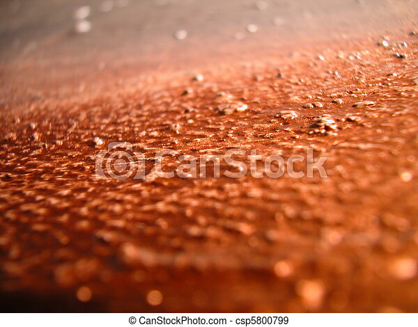 Silver and copper color on canvas - csp5800799