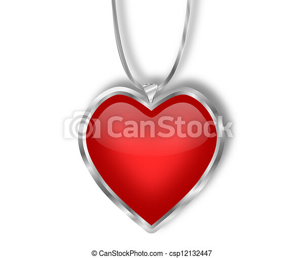 w heart products silver exquisite red zirconia necklace sincere shaped cubic pendant sterling