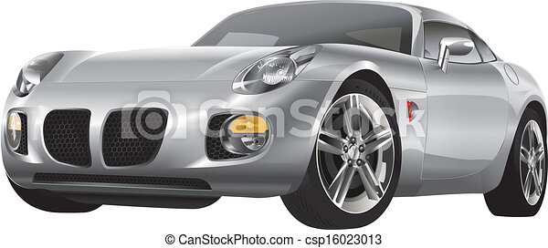 silver automobile - csp16023013