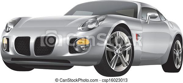 silver automobile - csp16023013