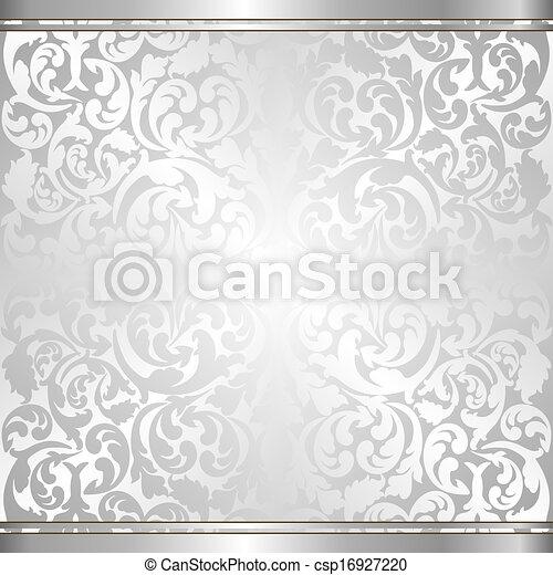 silver background - csp16927220