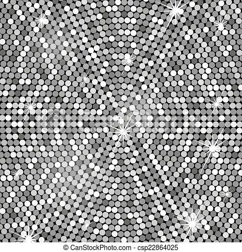 Silver background, vector - csp22864025