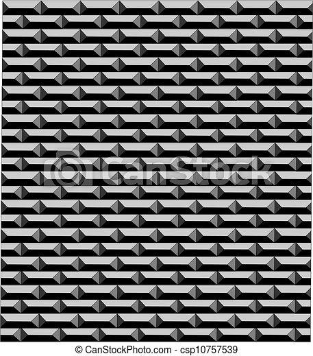Silver Brick Wall Vector