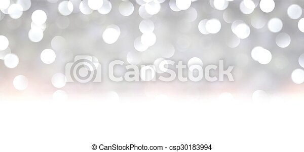 Silver christmas background. - csp30183994