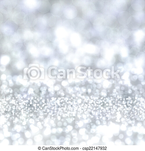 Silver christmas background. - csp22147932