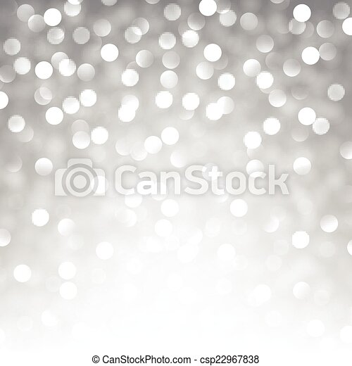 Silver christmas background. - csp22967838