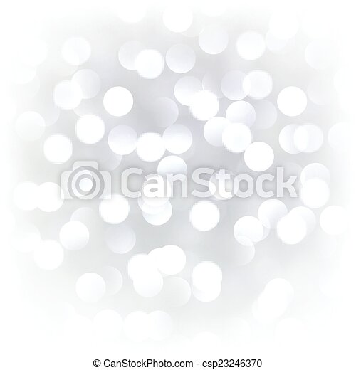Silver christmas background. - csp23246370