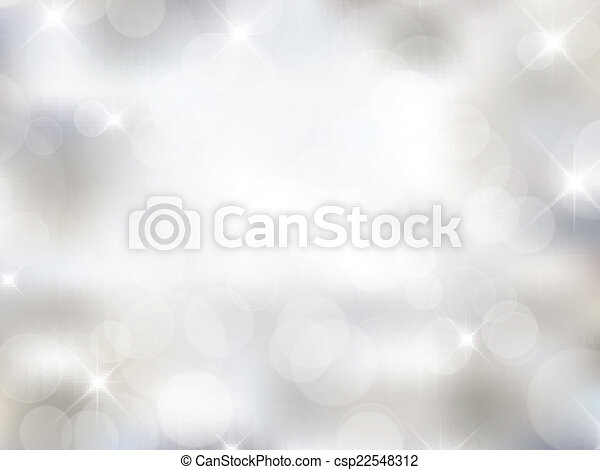 Silver Christmas background - csp22548312