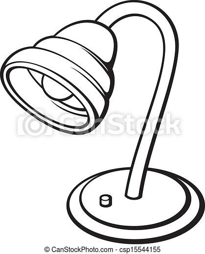 Silver Desk Lamp   Csp15544155
