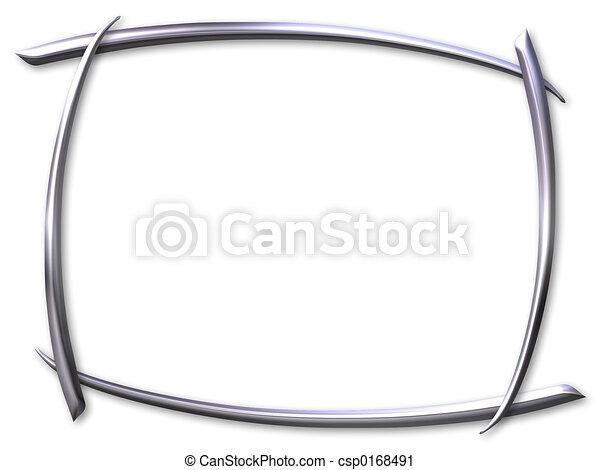 Silver frame - csp0168491