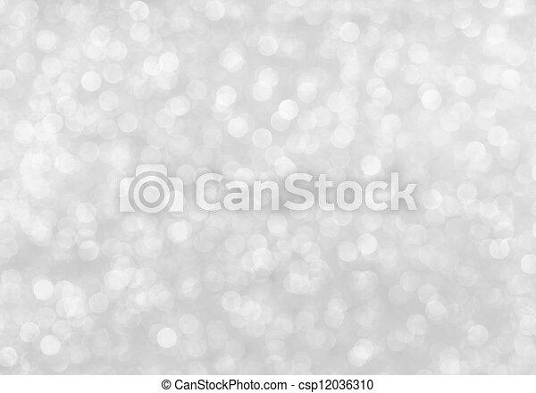 silver glitter - csp12036310