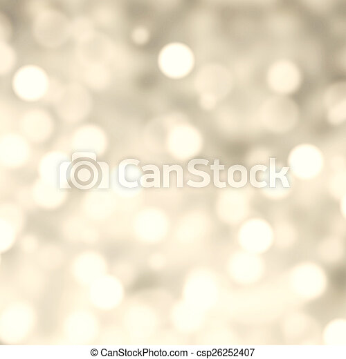 Silver Lights Festive Christmas  background with texture. Abstra - csp26252407