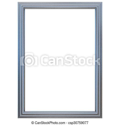 Silver Metal Frame - csp30759077