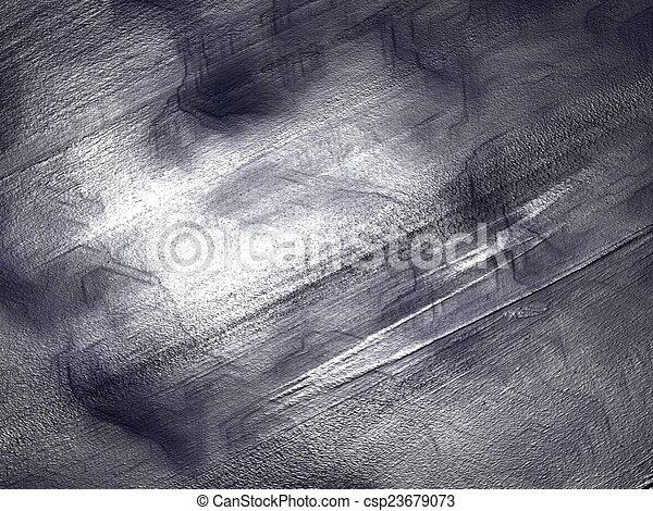 Silver metal texture - csp23679073