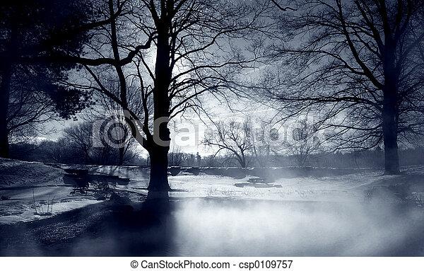 Silver Mist - csp0109757