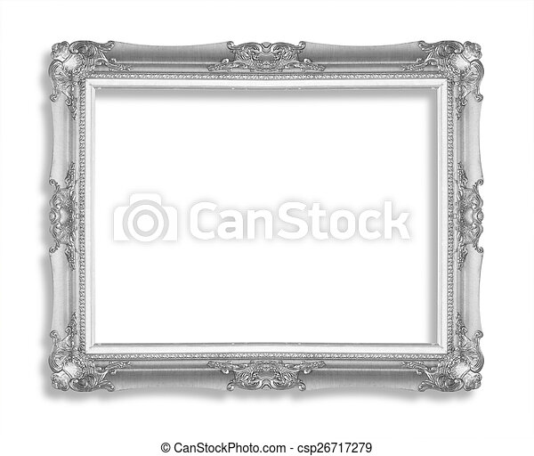 Silver picture frame - csp26717279