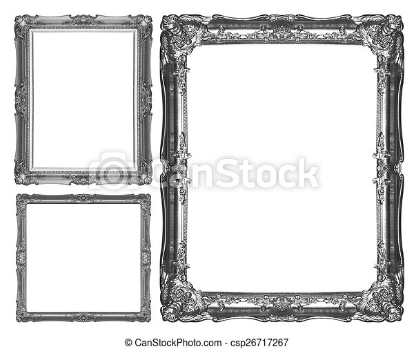 Silver picture frame - csp26717267