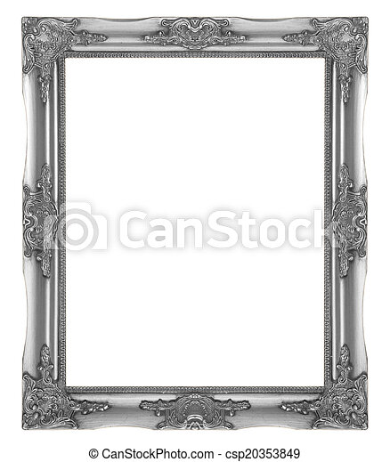 Silver picture frame - csp20353849