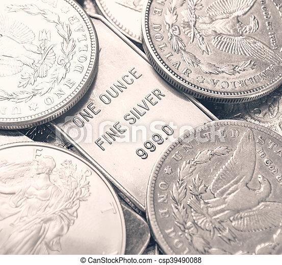 Silver - csp39490088