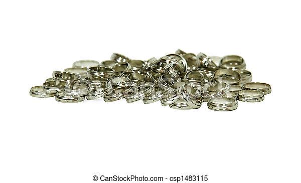 Silver rings - csp1483115
