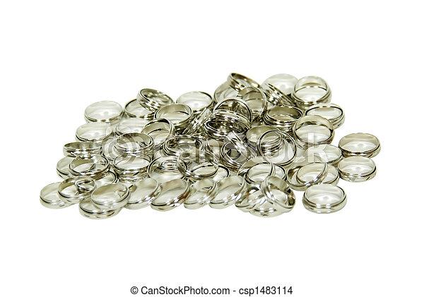 Silver rings - csp1483114