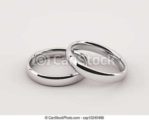 Silver Rings - csp10240496