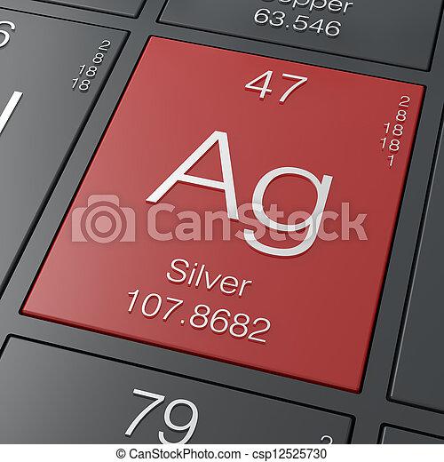Silver - csp12525730