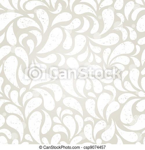 silver vintage wallpaper - csp9074457