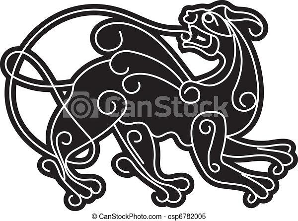 Simargl. Slavic mythical deity. - csp6782005