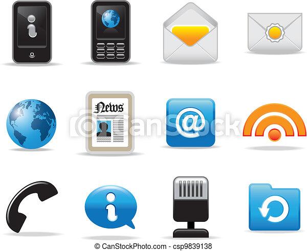 simboli, icone fotoricettore - csp9839138