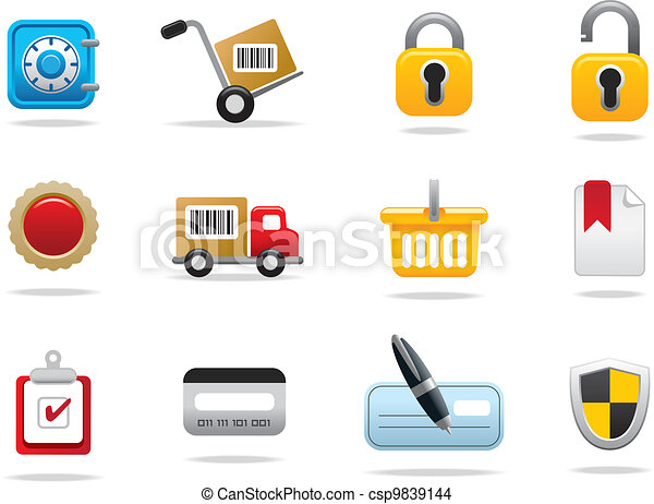 simboli, icone fotoricettore - csp9839144
