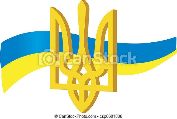 simboli, ucraina - csp6601006