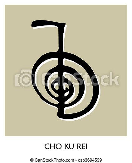 simbolo, reiki, 4 - csp3694539