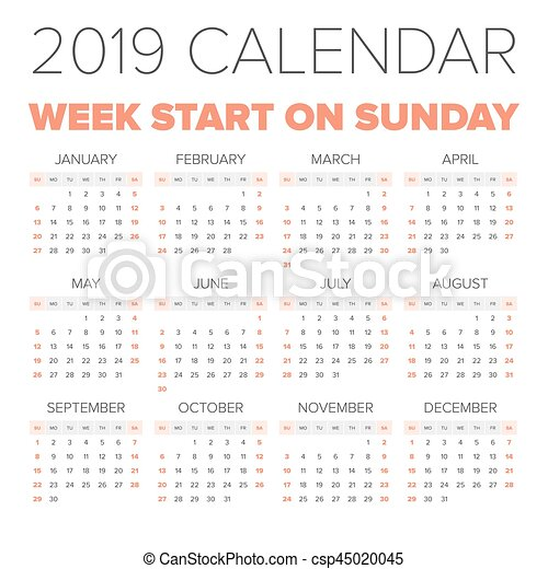 2019 november naptár Simple 2019 year calendar, week starts on monday. 2019 november naptár