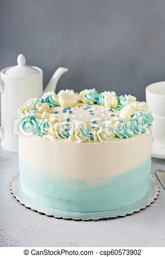 Surprising Simple Baby Shower Or Baptism Cake Simple Baby Shower Birthday Funny Birthday Cards Online Amentibdeldamsfinfo