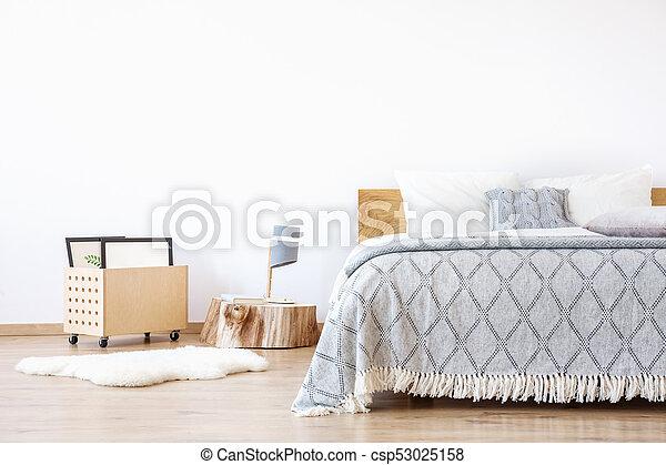 Simple Blanc Tapis Chambre à Coucher