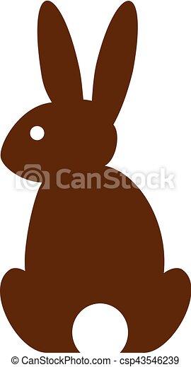 Simple Bunny Silhouette Vectors