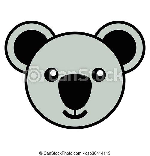 Lindo caricatura koala Imagenes Stock Photo. 39 Lindo caricatura ...
