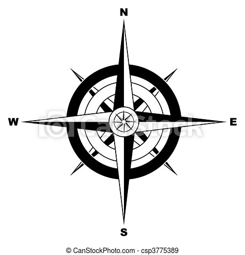 Simple compass csp3775389