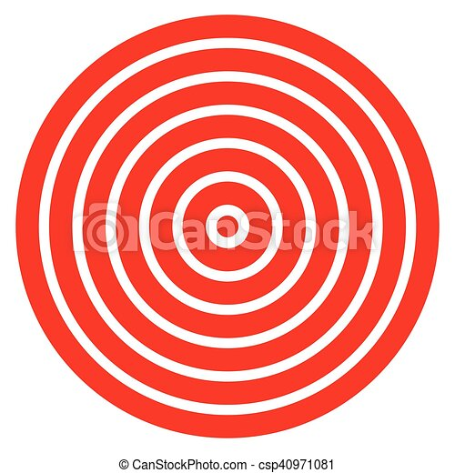 photograph about Printable Bullseye named Uncomplicated simple in direction of print aim mark with bullseye