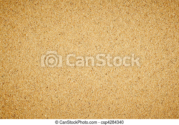 Simple flat sand texture. - csp4284340