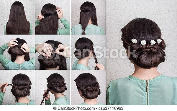 Simple Hairdo Self Tutorial