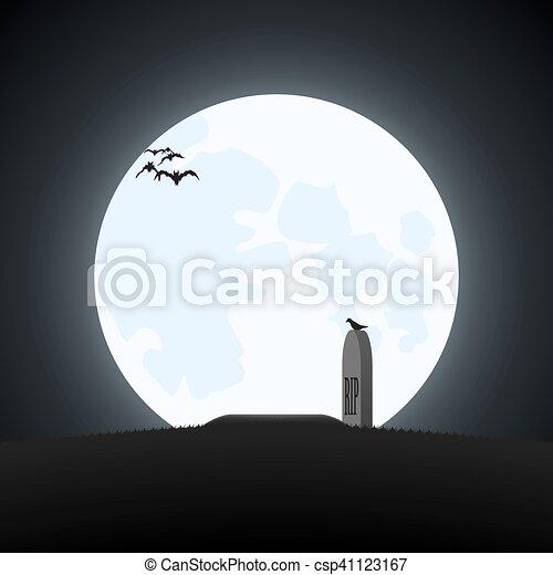 simple halloween theme. - csp41123167
