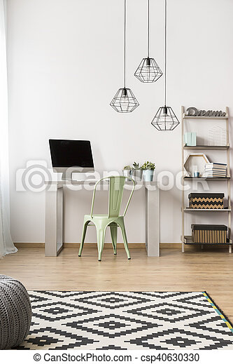 Una simple idea de oficina - csp40630330