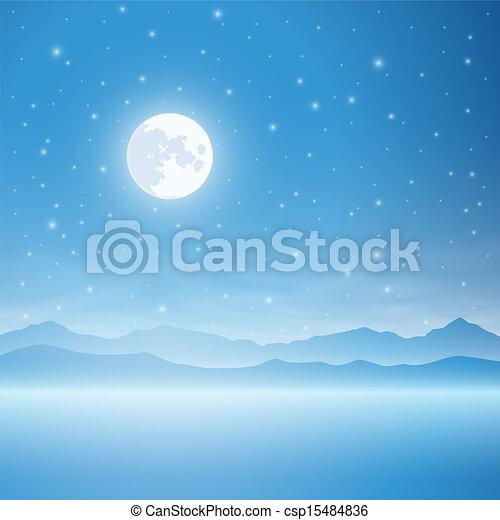 Simple Landscape - csp15484836
