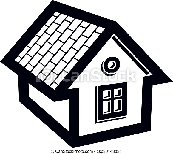 simple mansion icon isolated on white background vector vectors rh canstockphoto com mansion house clipart haunted mansion clipart